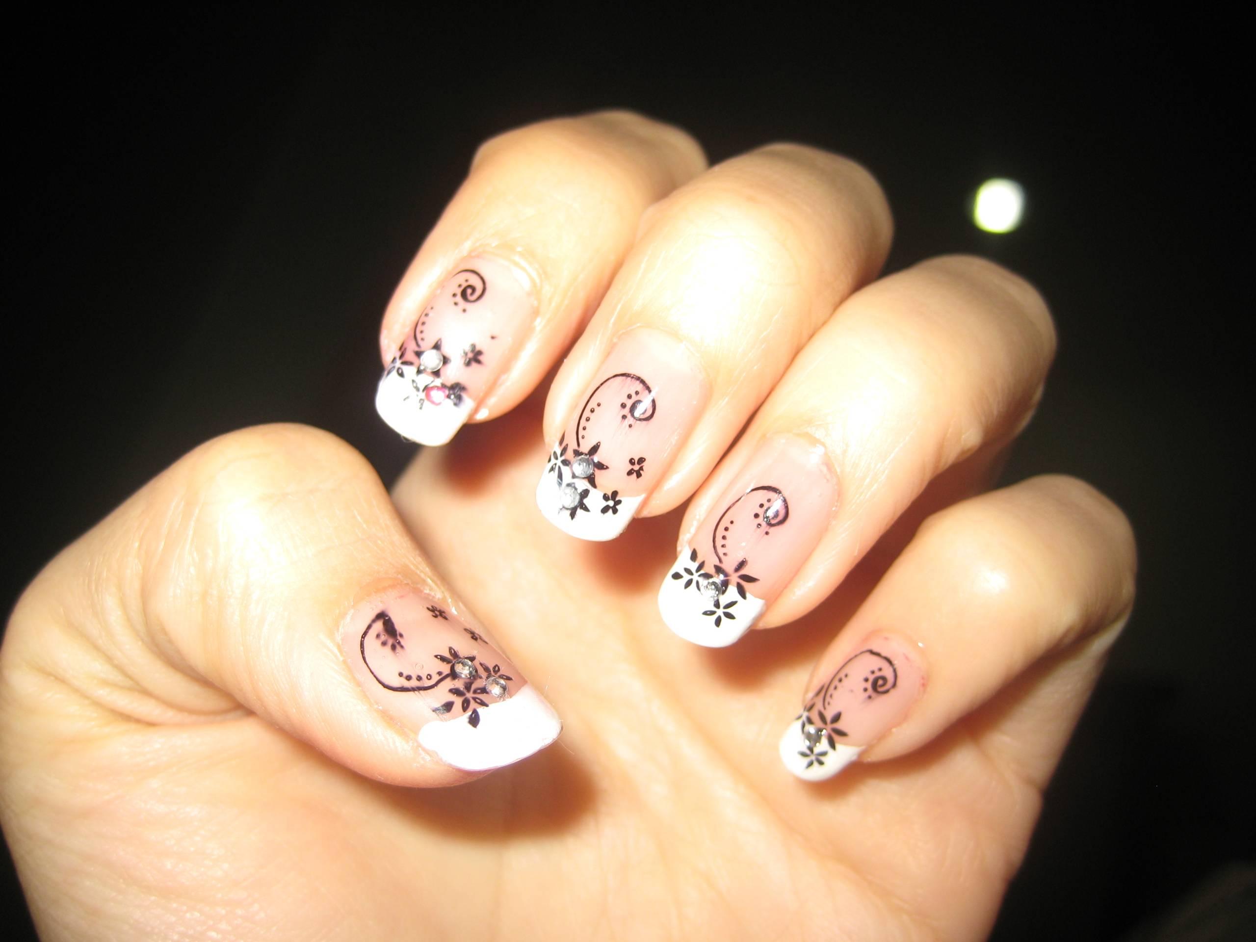 Konad Nail Art Stamping Polish Black: Glamour queen nails base ...